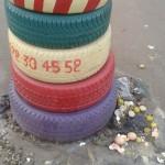 Rond point en milieu urbain : Lieux d'offrandes pour des sacrifices