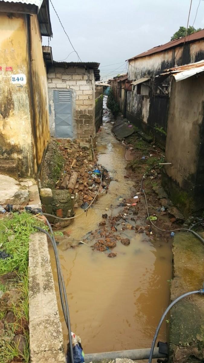 Dégâts des intempéries dans les habitations à Conakry - Pluie et inondation